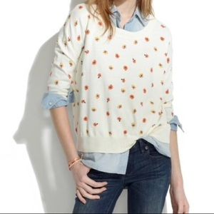 Madewell Studio Sweater in Pansy